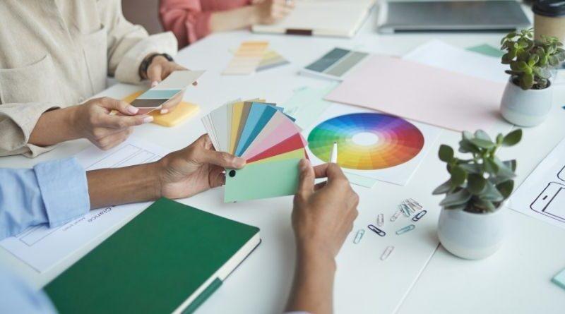 Principer för färgval och färggestaltning företagsforumet